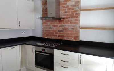 Room transformation: from old sitting room to new kitchen