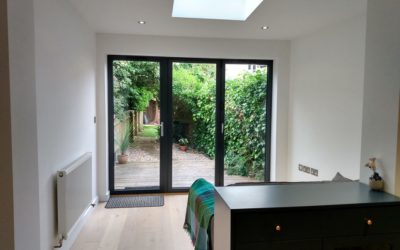 Transformation: from old outhouses to new extension